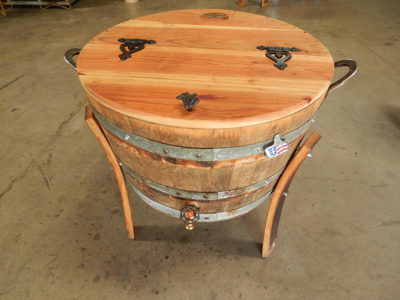 oak wine barrel large wine barrel cooler 2 large oak wine barrel cooler 30 gallon barrel office barrel middot