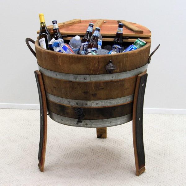 Wine Barrel Stave Cooler Large 30 gallon