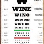 Wine Chart-Weathered