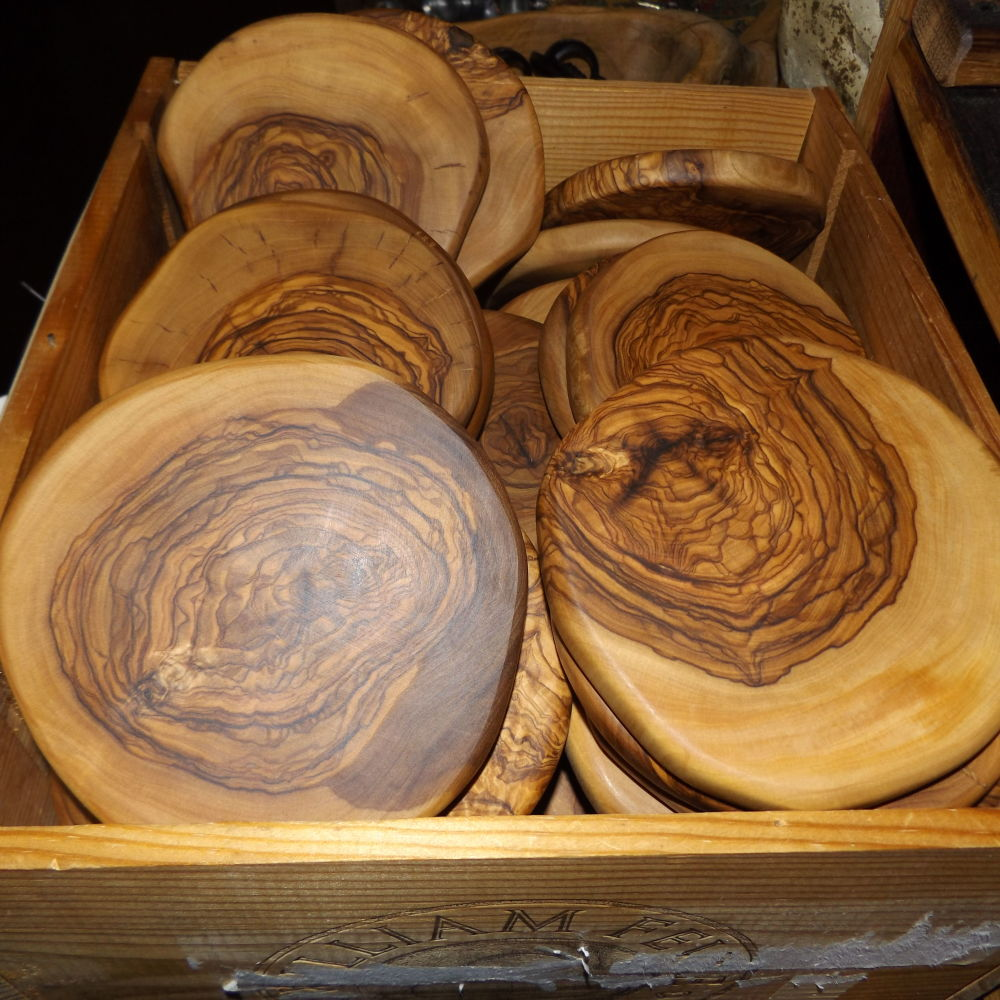 Olive Wood Coasters Free Shipping Napa General Store