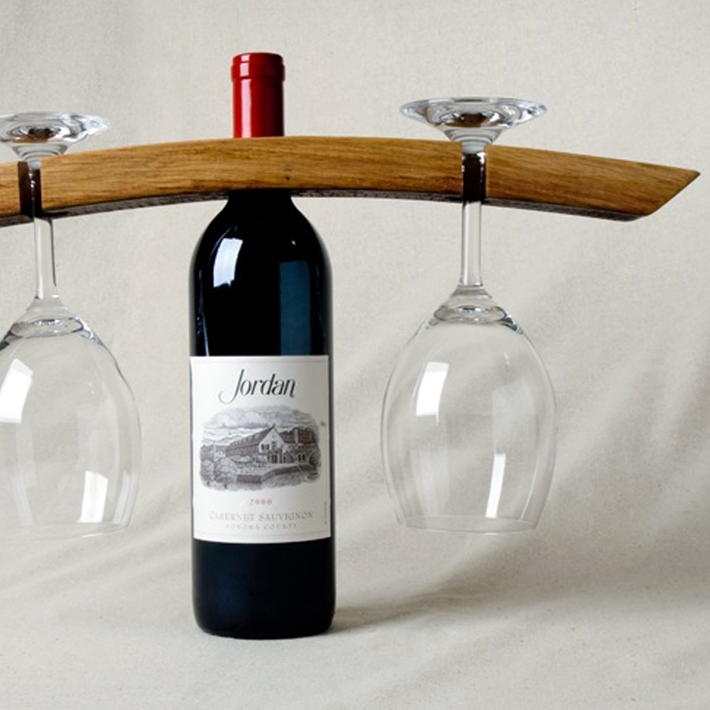 Barrel Stave Wine Caddy Free Shipping Napa General Store