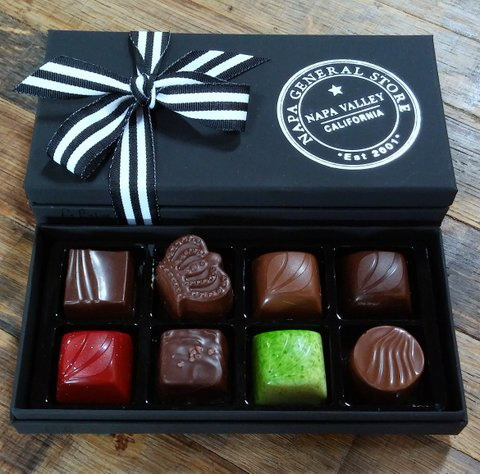 Gourmet Truffles Napa General Store - Box of 8