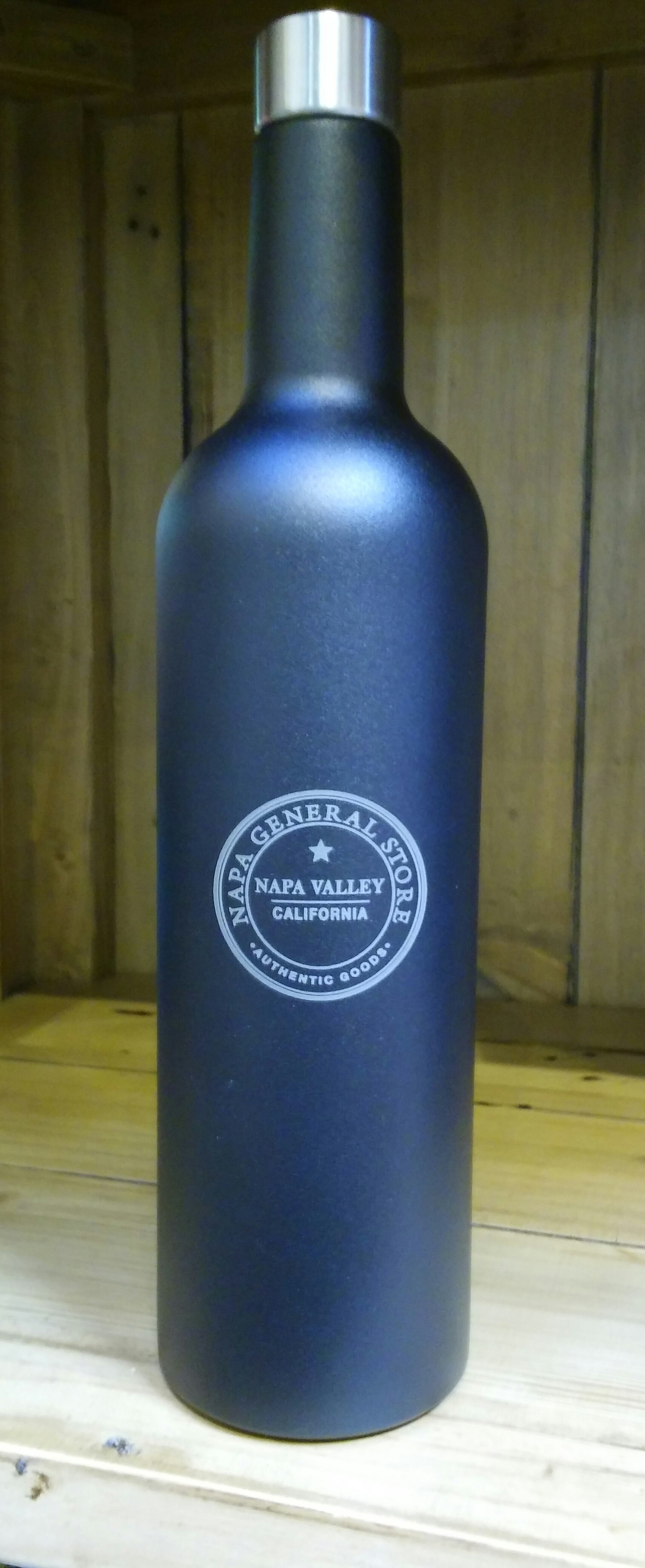 Stainless Steel Napa Valley Wine Bottle Free Shipping