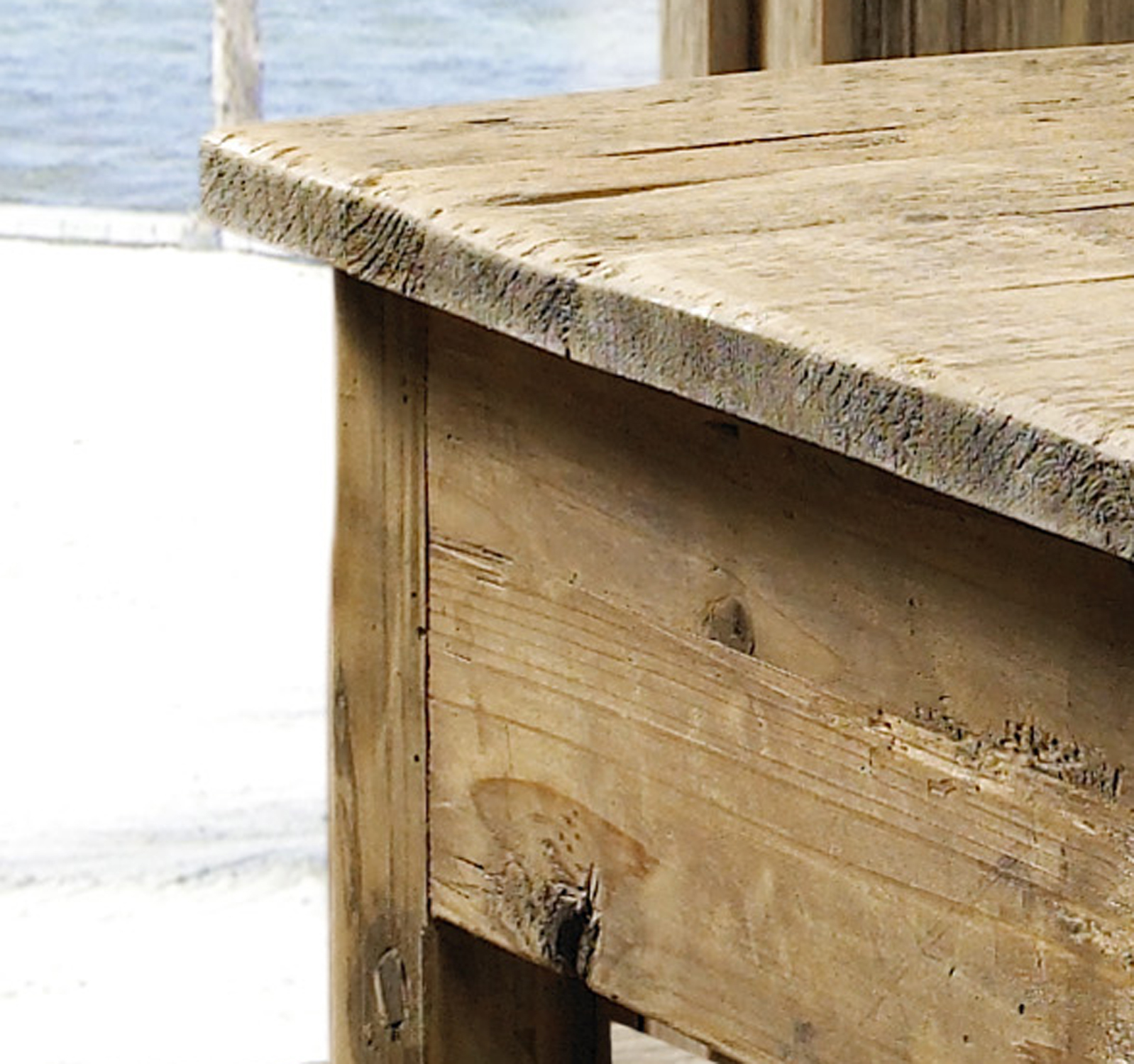 Salvage Wood Coffee Table