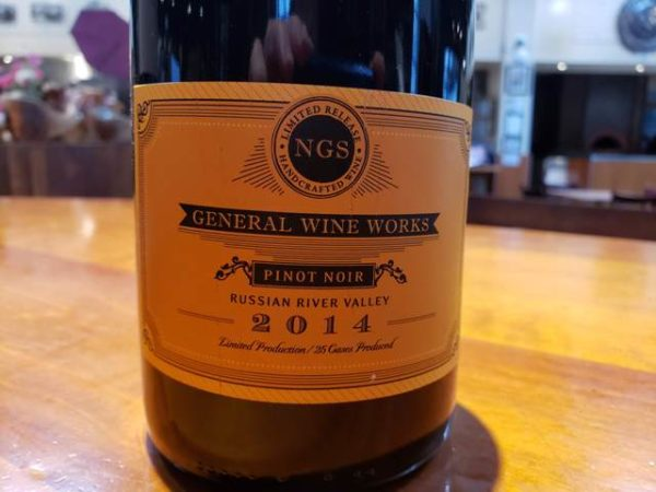 General Wine Works Pinot Noir