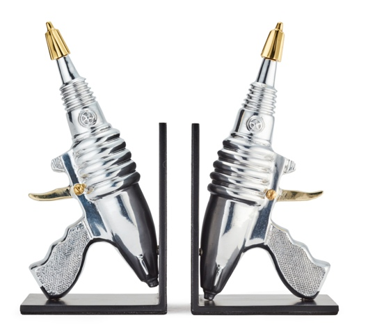 Raygun_Bookends